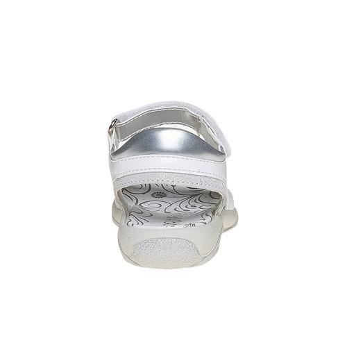 Sandali per bambina con velcro primigi, bianco, 261-1152 - 17