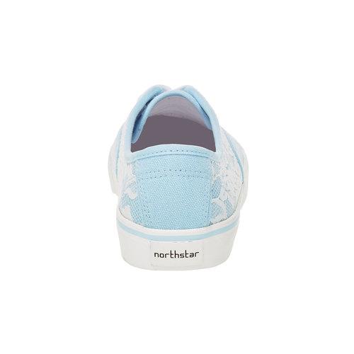 Sneakers con pizzo north-star, viola, 549-9222 - 17