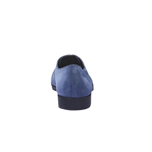 Scarpe basse di pelle flexible, blu, 526-9156 - 17