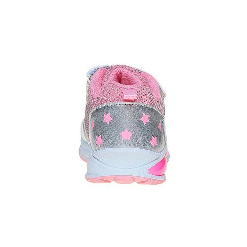 Sneakers argentate da ragazza mini-b, argento, 221-2177 - 17