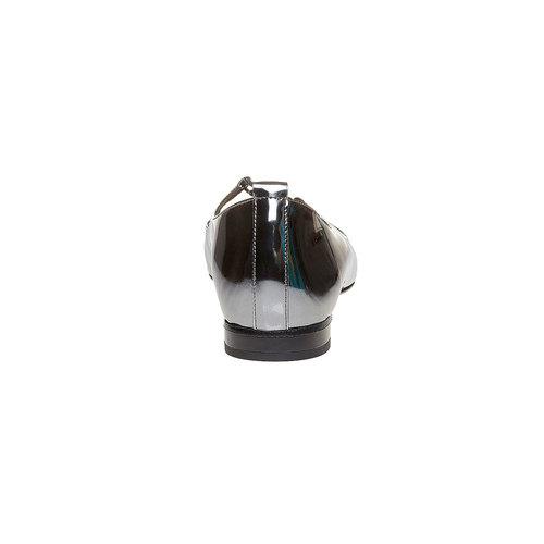 Ballerine argentate con lacci bata, argento, 521-1211 - 17