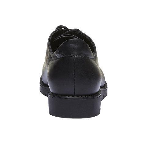 Scarpe in pelle con lacci originali flexible, nero, 524-6438 - 17
