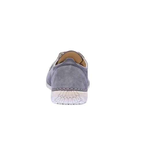 Sneakers comode di pelle weinbrenner, blu, 544-9151 - 17