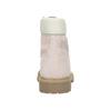 Scarpe da bambino in pelle con suola appariscente weinbrenner-junior, rosso, 396-5182 - 17