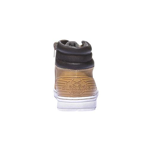 Scarpe da ragazzo alla caviglia mini-b, giallo, 391-8194 - 17