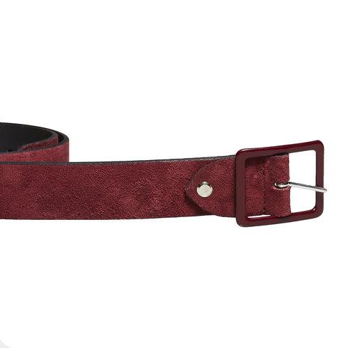 Cintura da donna in pelle bata, rosso, 953-5105 - 26