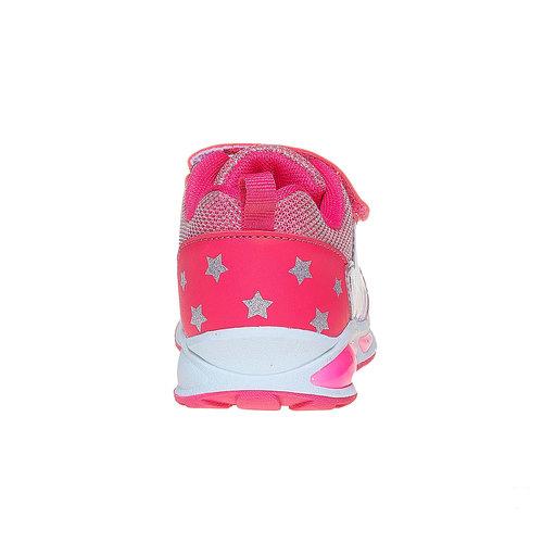 Sneakers rosa da ragazza con fata mini-b, rosa, 221-5177 - 17