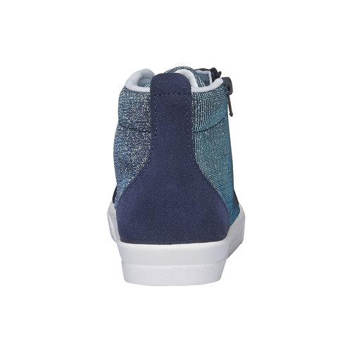 Sneakers alla caviglia con riflessi metallici north-star-junior, viola, 329-9195 - 17