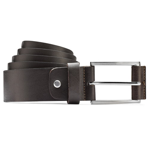 Cintura classica in pelle bata, marrone, 954-4833 - 13