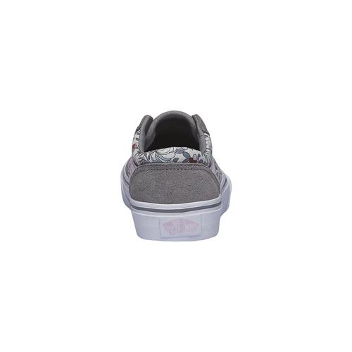 Scarpe bambini vans, grigio, 303-2700 - 17