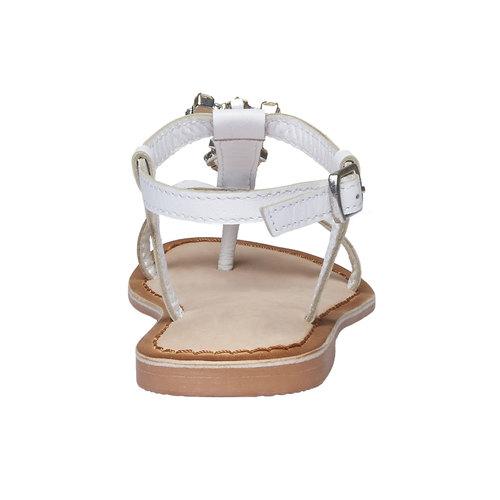 sandalo bimba mini-b, bianco, 364-1163 - 17