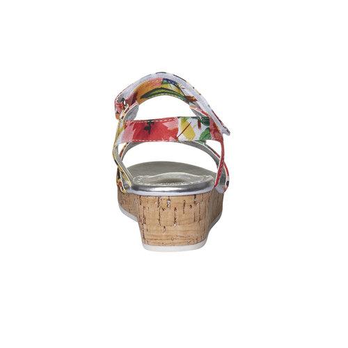 Sandali da bambina con plateau basso mini-b, 369-0176 - 17