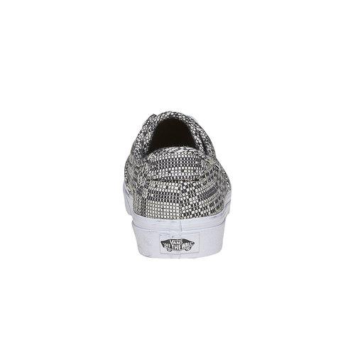 Sneakers da donna con disegno vans, grigio, 509-6311 - 17
