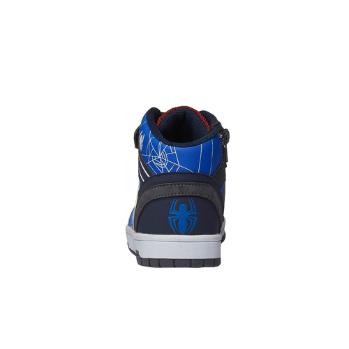 Sneakers Spiderman da bambino alla caviglia spiderman, grigio, 311-2129 - 17
