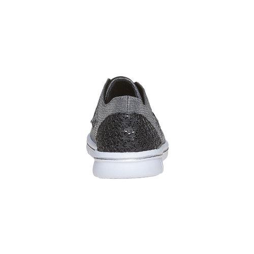 Sneakers argentate da ragazza mini-b, argento, 329-6214 - 17