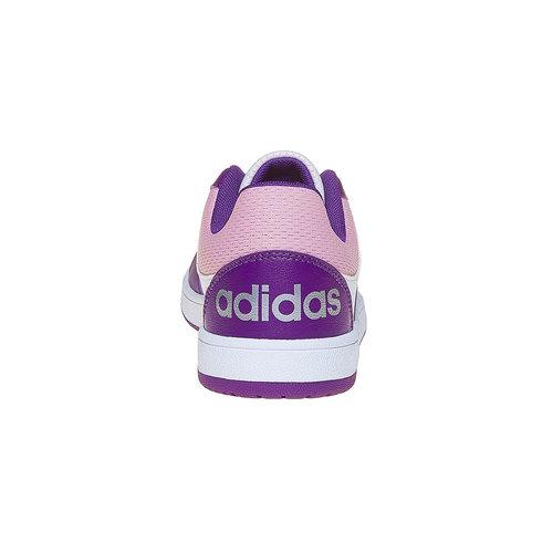 Sneakers eleganti da bambina adidas, bianco, viola, 401-1232 - 17