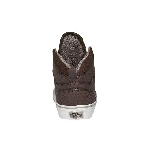 Sneakers da uomo alla caviglia vans, marrone, 801-4305 - 17