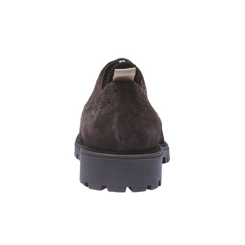 Scarpe basse in pelle con suola massiccia bata, marrone, 823-4288 - 17