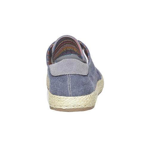 Sneakers informali da uomo bata, blu, 849-9668 - 17