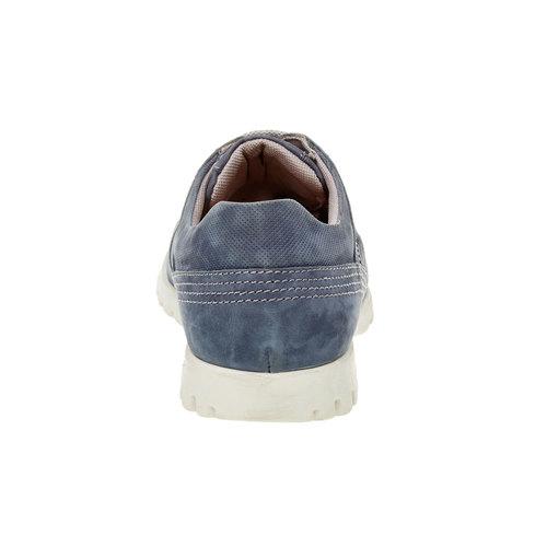 Sneakers informali di pelle flexible, viola, 846-9650 - 17