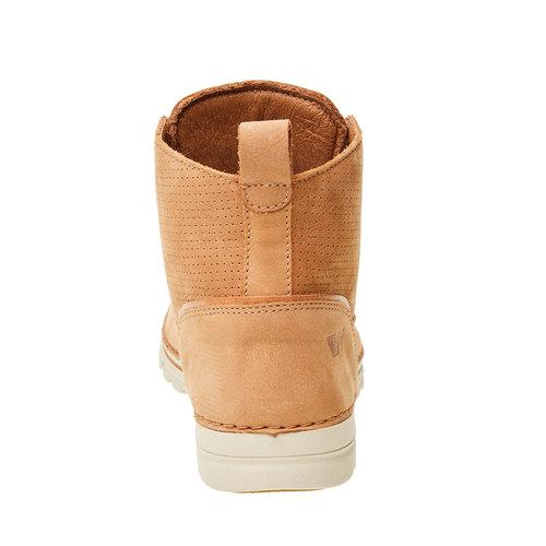 Scarpe di pelle alla caviglia weinbrenner, marrone, 594-3531 - 17