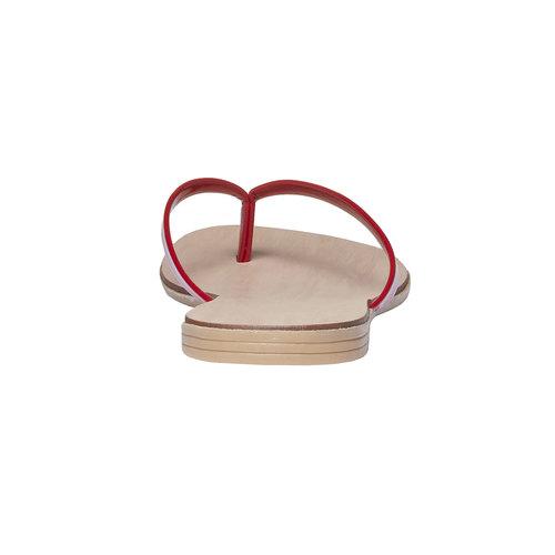 Infradito rosse da donna bata, rosso, 571-5273 - 17