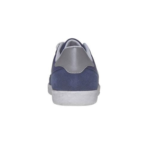 Sneakers informali da uomo bata, blu, 841-9655 - 17