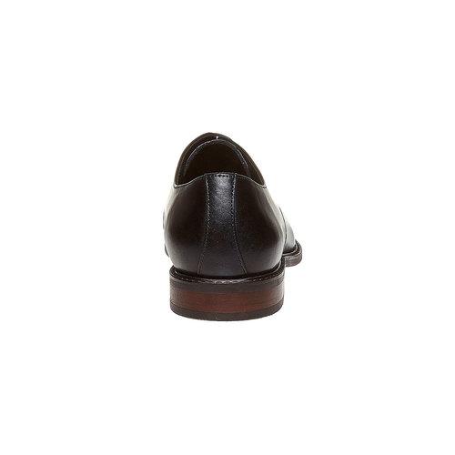 Scarpe basse in stile Derby bata, nero, 824-6311 - 17