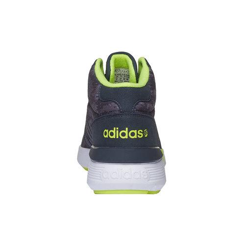 Sneakers da uomo alla caviglia adidas, grigio, 809-2128 - 17