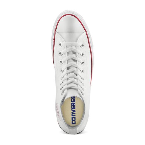 Sneakers alla caviglia converse, bianco, 889-1278 - 17