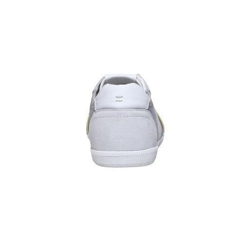 Sneakers informali da uomo bata, bianco, 849-1653 - 17