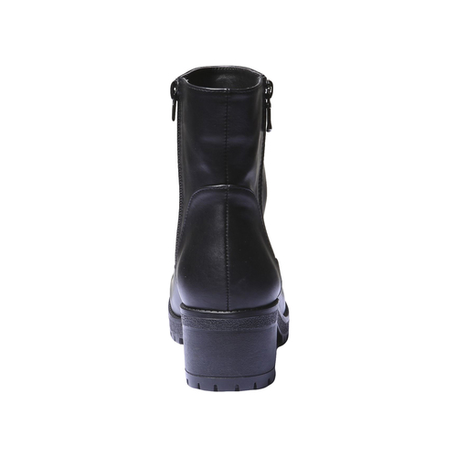 Scarpe da donna alla caviglia bata, nero, 691-6138 - 17