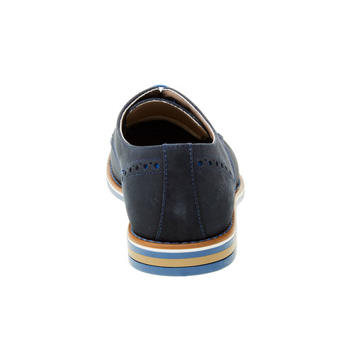 Calzatura uomo bata, blu, 826-9839 - 17