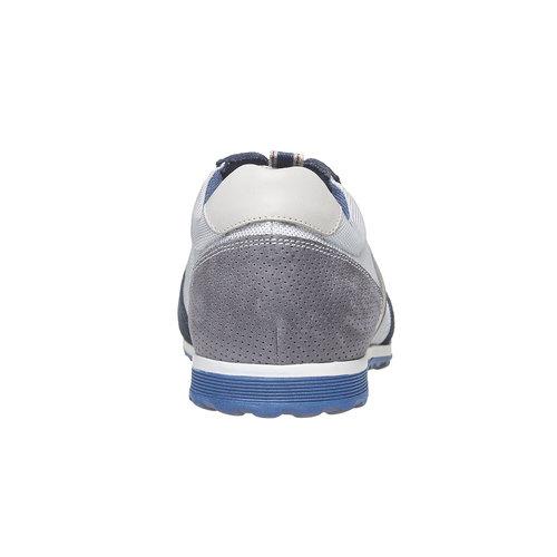 Sneakers informali da uomo bata, grigio, 849-2636 - 17