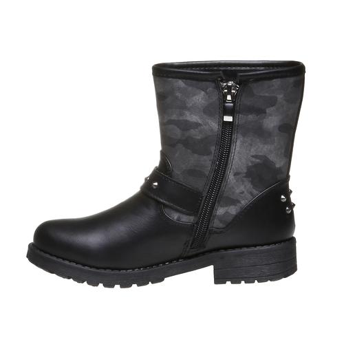 Boot  violetta, nero, 391-6162 - 15