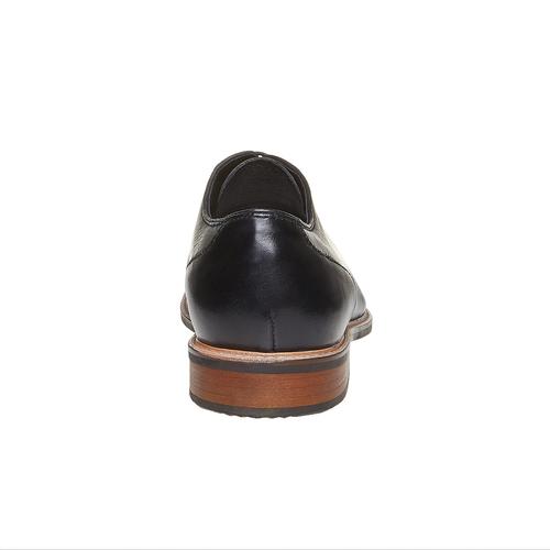 Scarpe basse da uomo in pelle in stile Derby bata, nero, 824-6280 - 17
