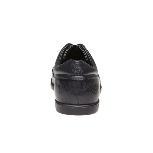 Scarpe basse informali da uomo, nero, 821-6627 - 17