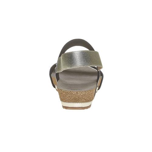 Sandali donna bata, oro, 661-8113 - 17