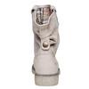 Scarpe di pelle alla caviglia weinbrenner, beige, 596-8405 - 17