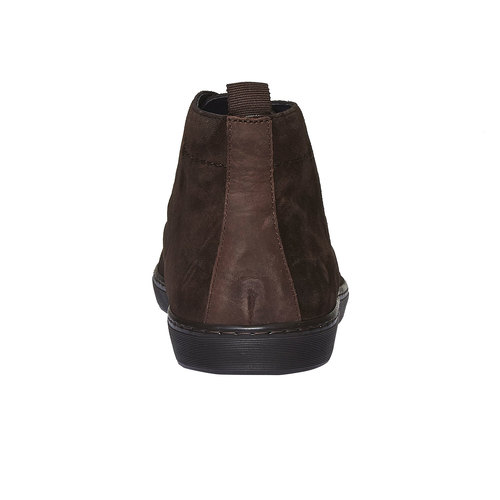 Scarpe basse scamosciate bata, marrone, 893-4387 - 17
