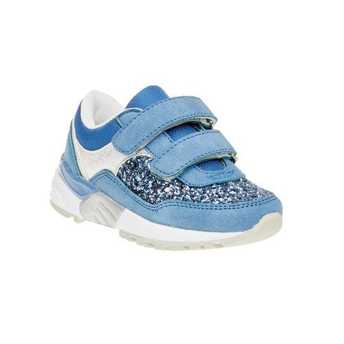 Sneakers da bambino con glitter mini-b, viola, 221-9150 - 13