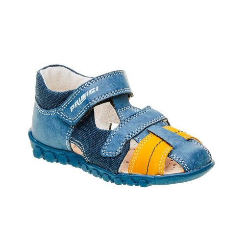 Sandali da ragazzo con chiusura a velcro primigi, blu, 111-9139 - 13