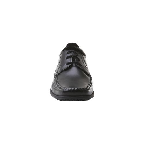 scarpa in pelle da uomo bata-comfit, nero, 854-6836 - 16