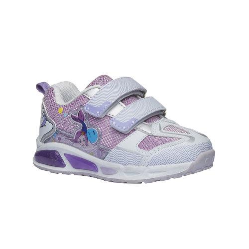 Sneakers da ragazza con chiusure a velcro mini-b, rosso, 229-5159 - 13