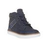 Sneakers da bambino alla caviglia mini-b, blu, 211-9169 - 13