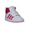 Sneakers da bambino alla caviglia adidas, rosso, 101-5167 - 13