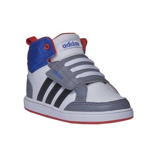 Sneakers da bambino alla caviglia adidas, bianco, 101-1167 - 13