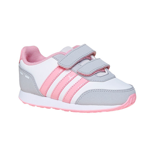 Sneakers sportive da bambina adidas, bianco, 101-1113 - 13