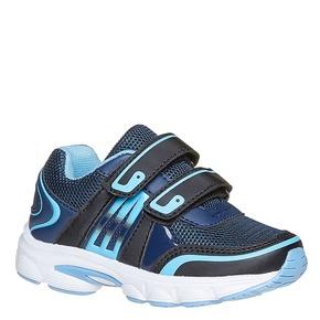 Sneakers da bambino con chiusure a velcro mini-b, blu, 219-9167 - 13