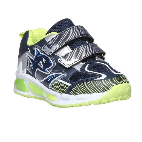 Sneakers da bambino con velcro mini-b, viola, 211-9155 - 13